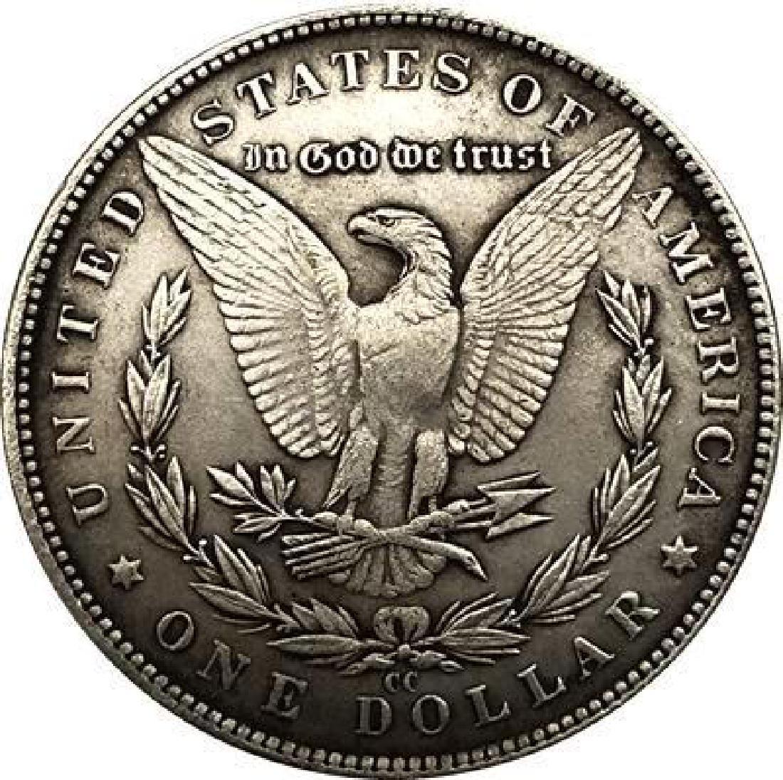 1881 USA Woman in Bikini #1 One Dollar Coin - 2