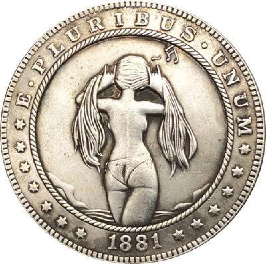 1881 USA Woman in Bikini #2 One Dollar Coin