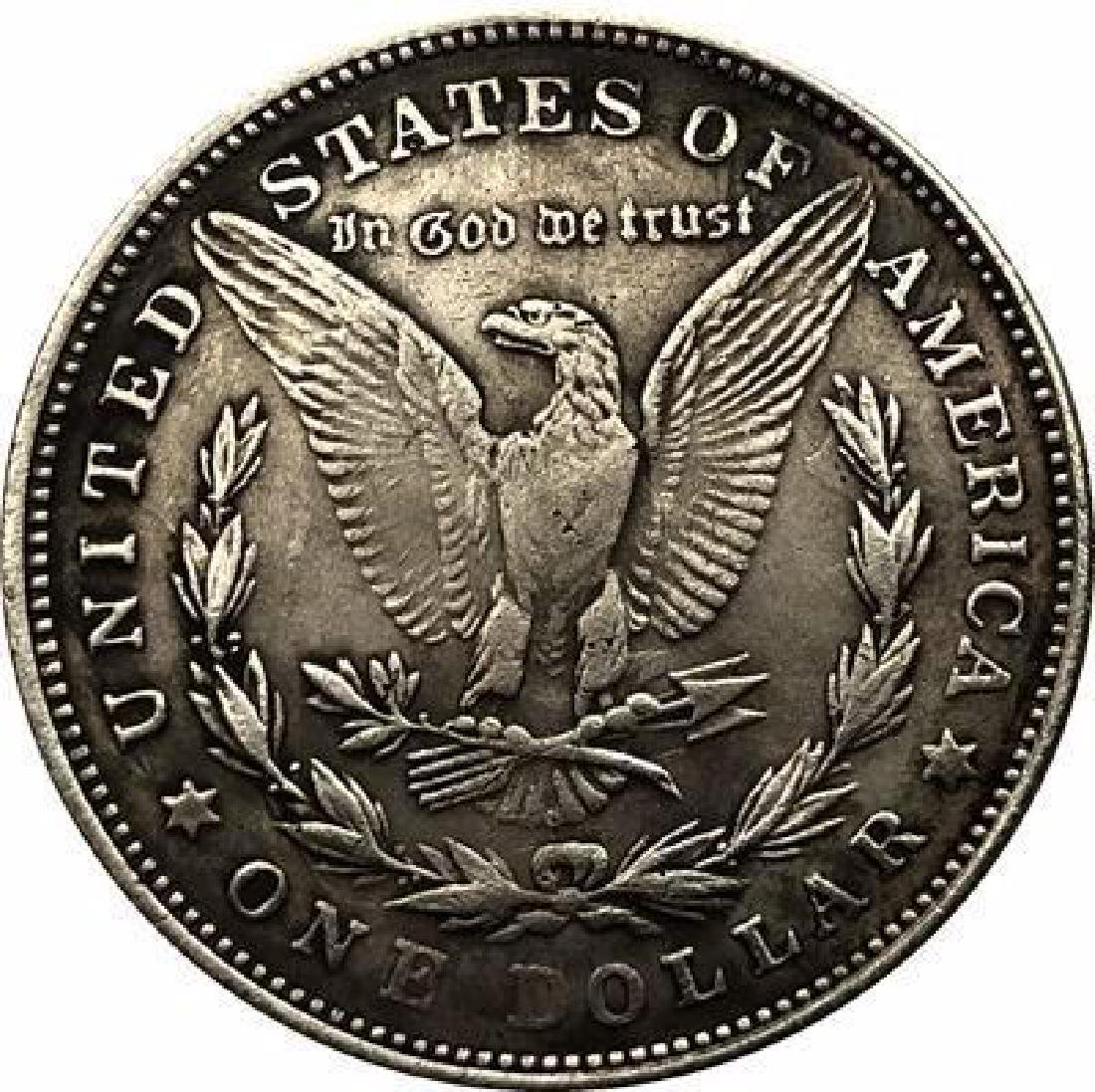 1895 USA Mermaid with Infant Coin - 2