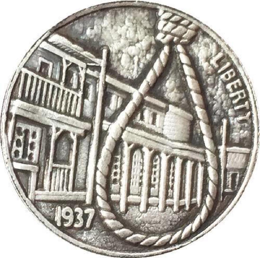 1937 USA Wild West Noose Buffalo Coin