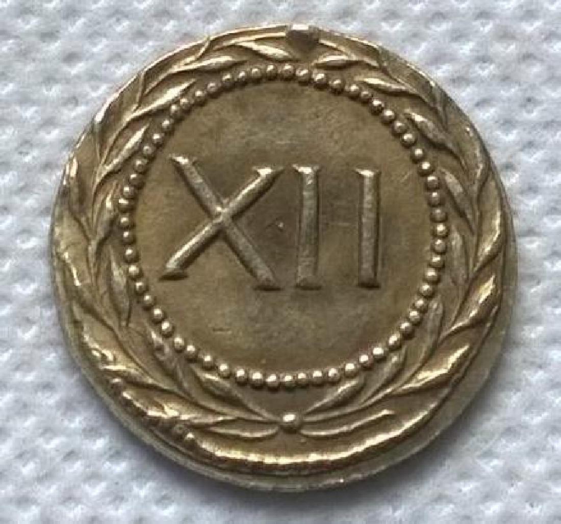Roman Erotic Position #11 Token Coin - 2