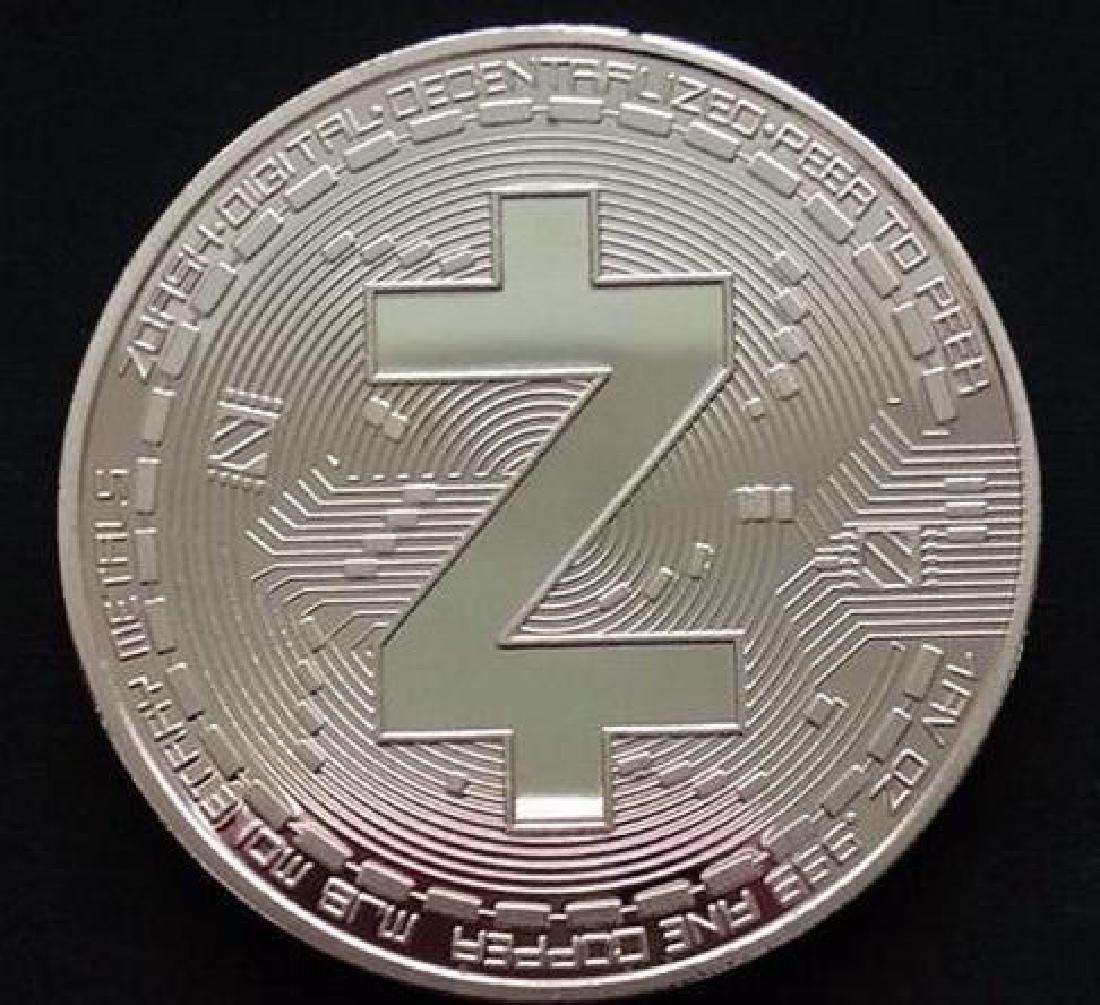 Zcash Digital Silver Clad Crypto Coin