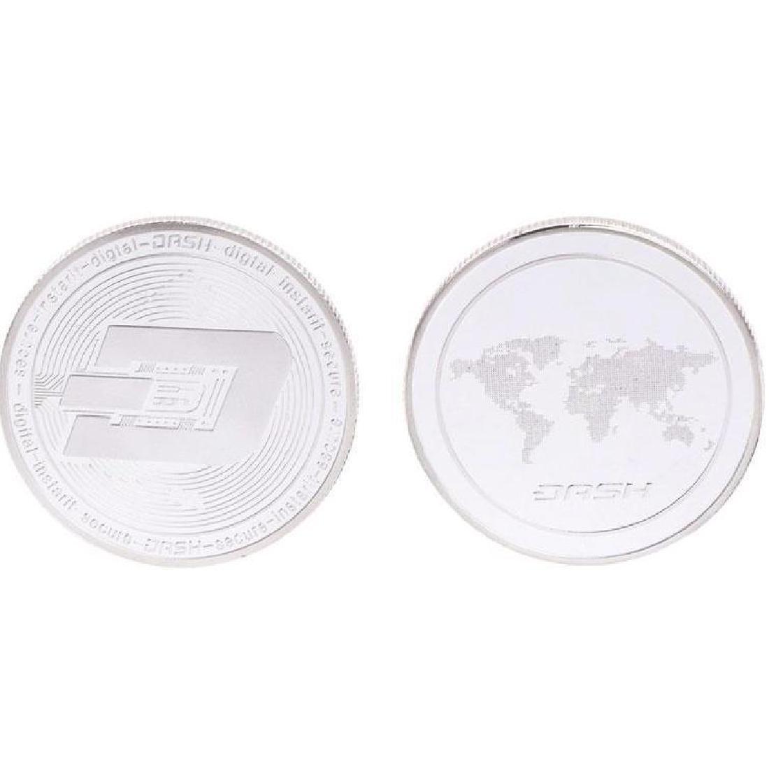 Dash Digital Silver Clad Crypto Coin