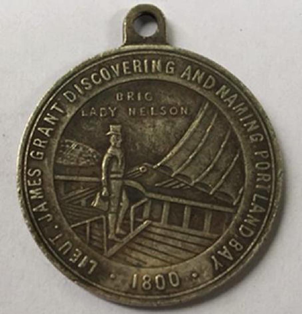 1800 South Africa Paul Kruger Commemorative Medal - 2