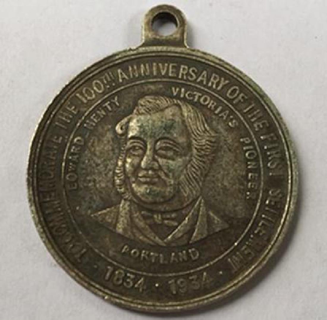 1934 South Africa Anniversary Commemorative Medal