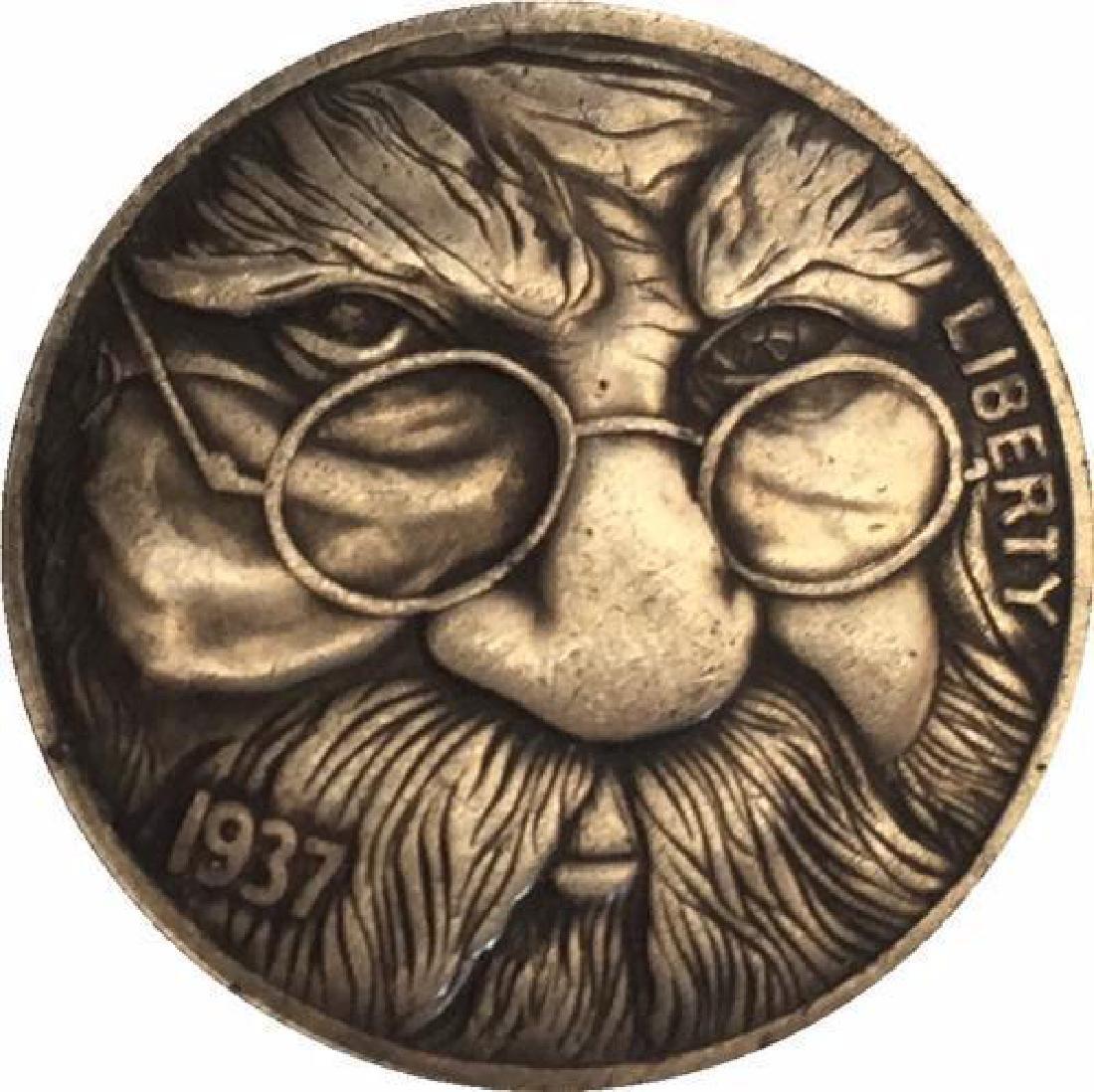 1937 USA Grandfather Buffalo Coin