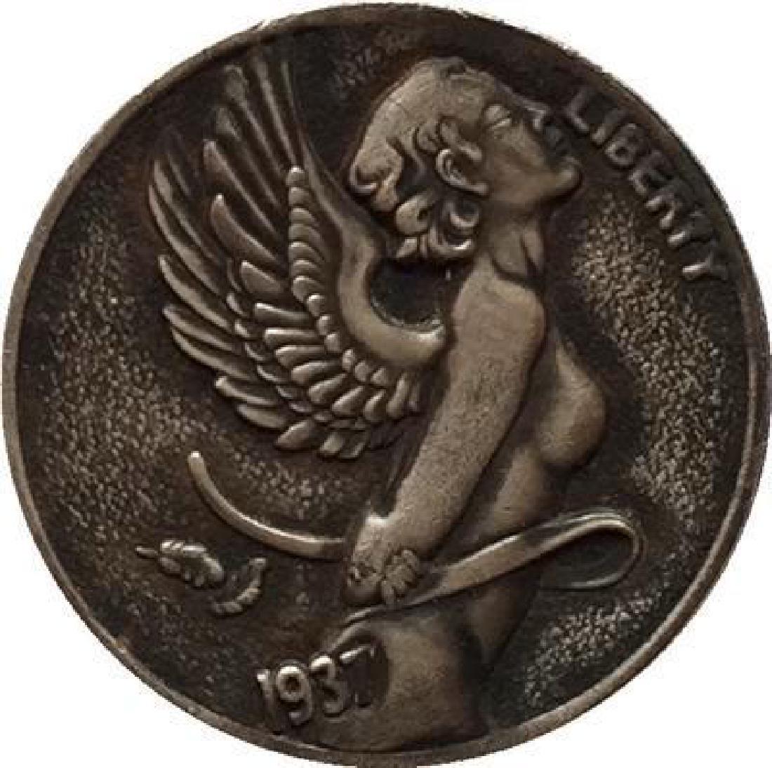 1937 USA Beautiful Angel Buffalo Coin