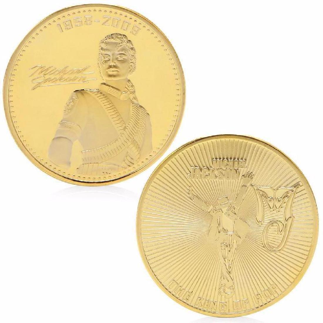 Michael Jackson Gold Clad Commemorative Coin