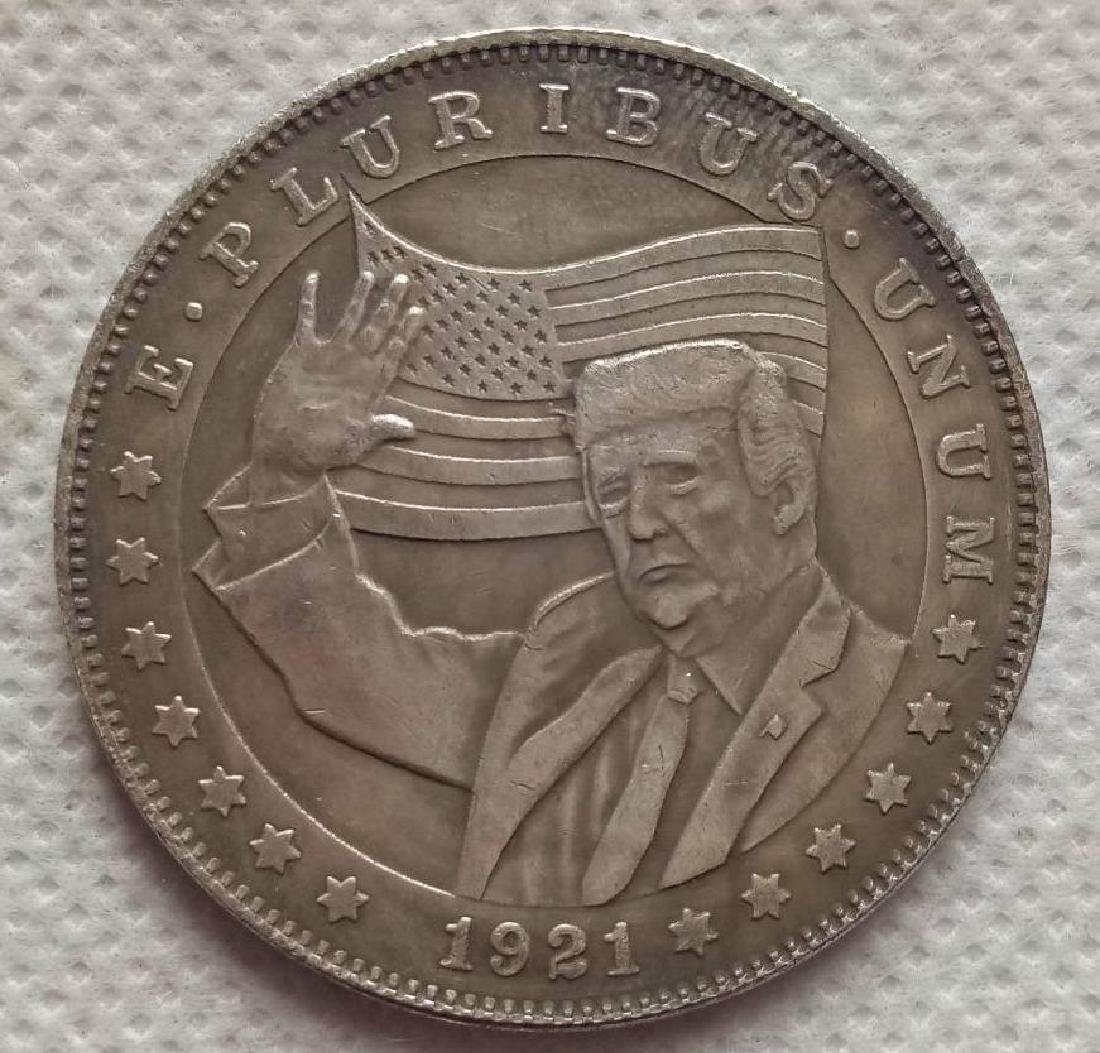 1921 USA President Donald Trump Coin