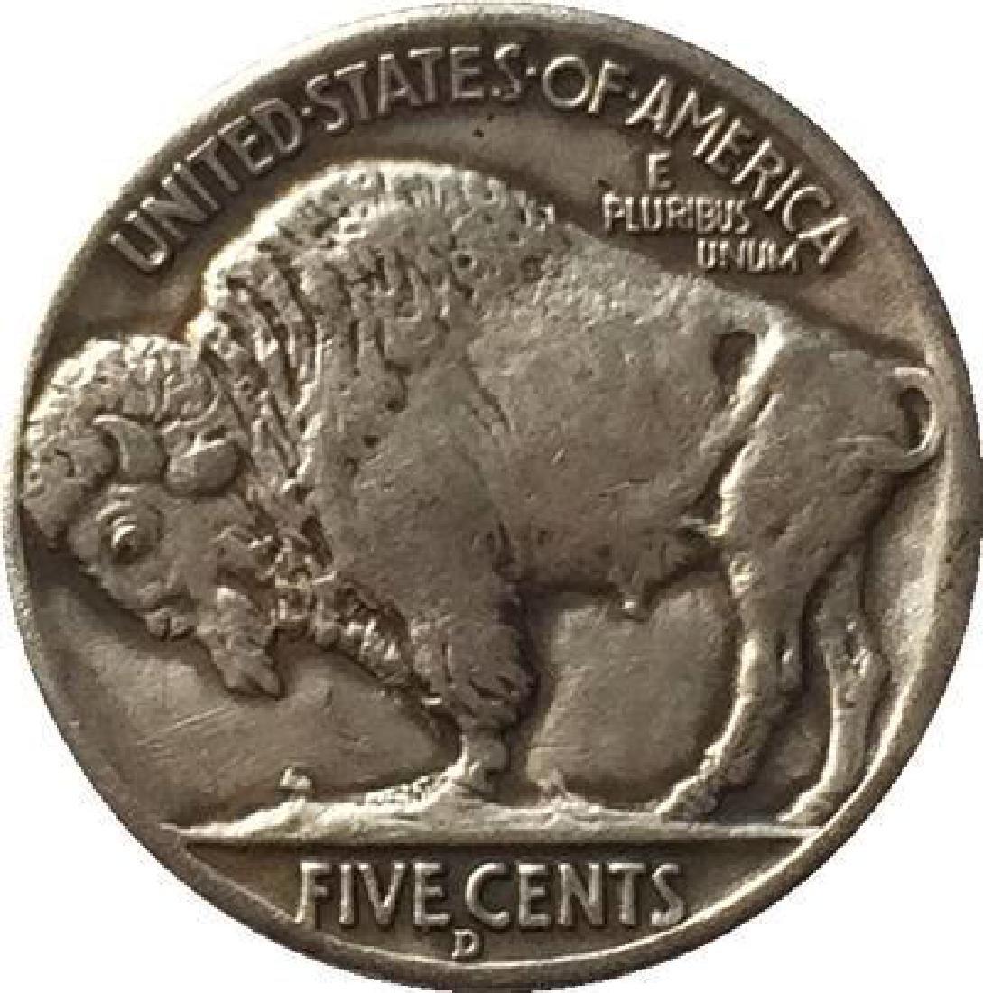 1937 USA Alice In Wonderland Buffalo Coin - 2