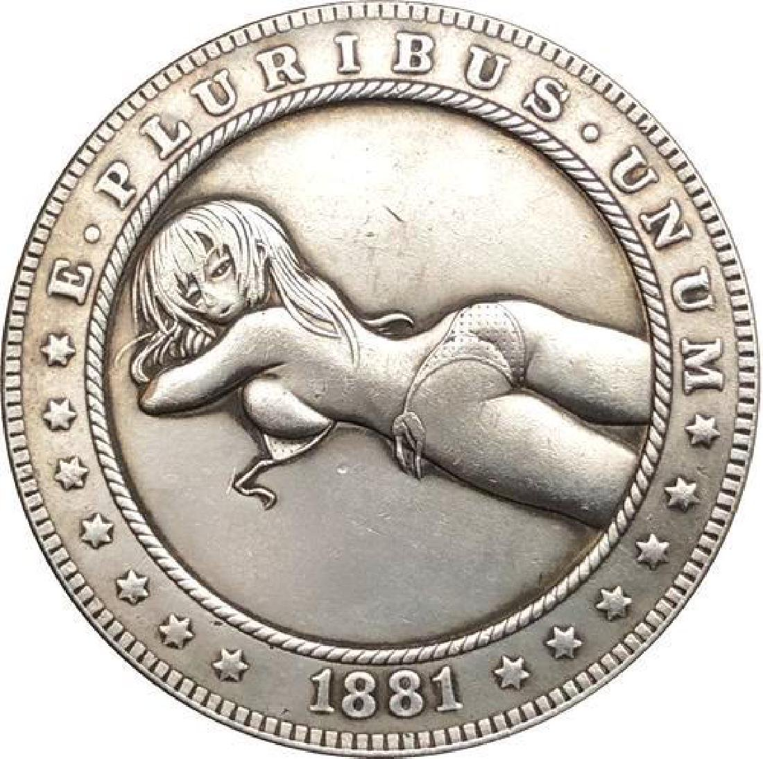 1881 USA Woman in Bikini #1 Coin
