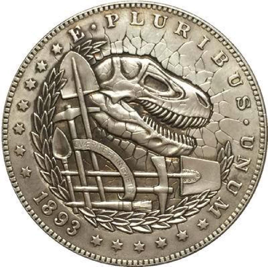 1893 USA Dinosaur Skull Coin