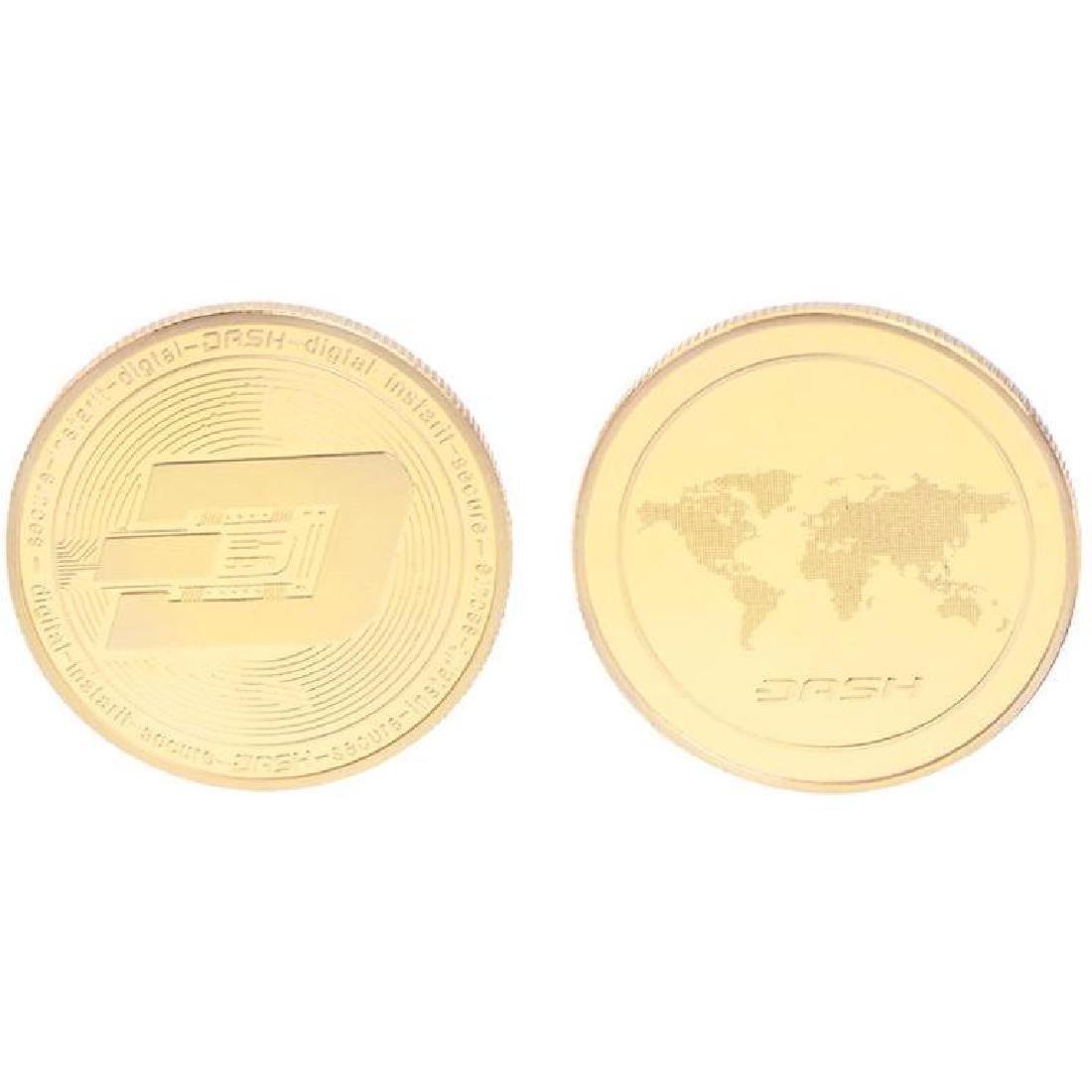 Dash Digital Gold Clad Crypto Coin