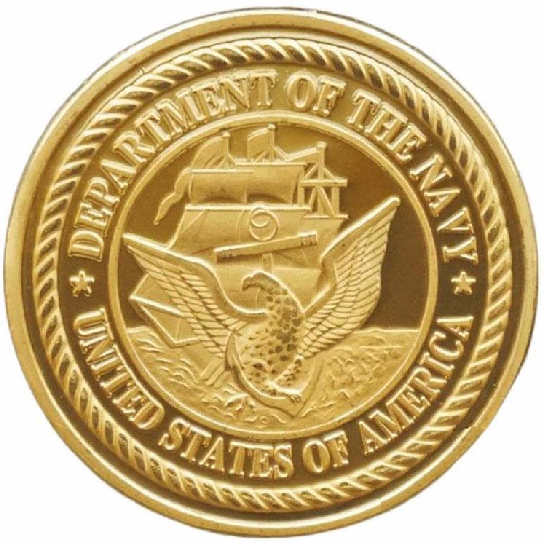 United States Navy Seal Military Challenge Coin - 2