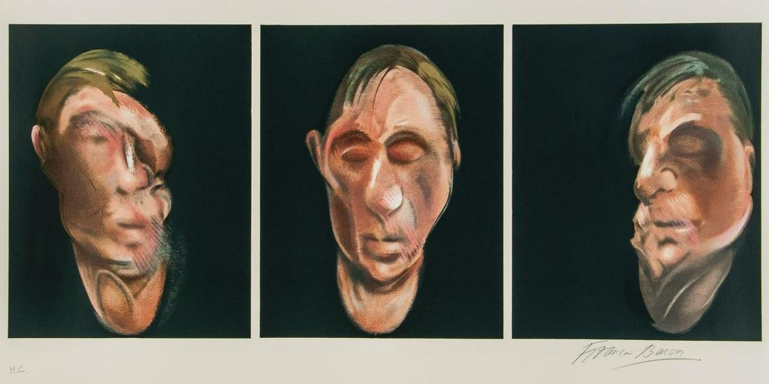 Self-Portrait Signed Francis Bacon