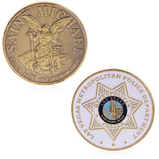 Las Vegas Police Colored Challenge Coin - Jul 30, 2019   PR