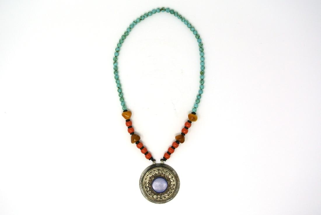Chinese 15.5 inch Tibetan Necklace