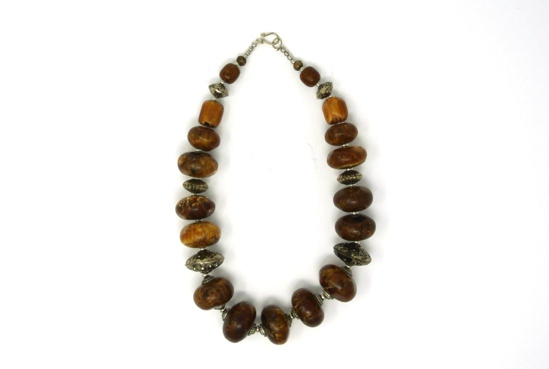Chinese Old Amber Necklace
