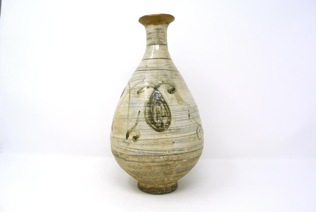 Korean Bunchung Vase from Joseon Dynasty