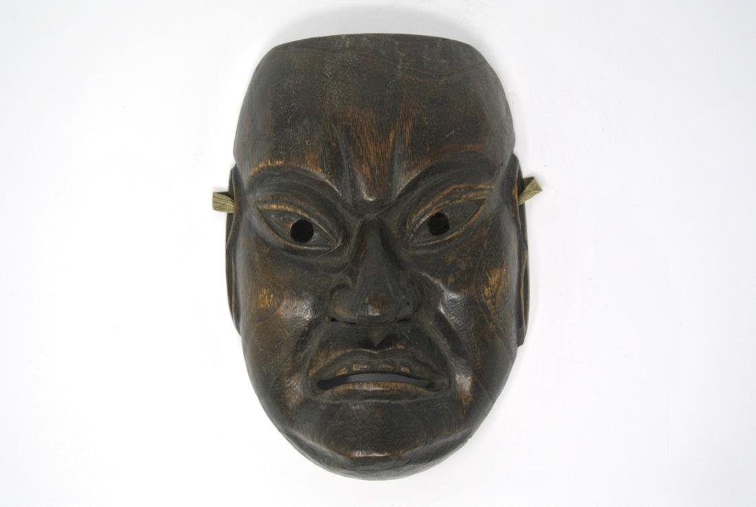 Japanese Old Persimmon Mask