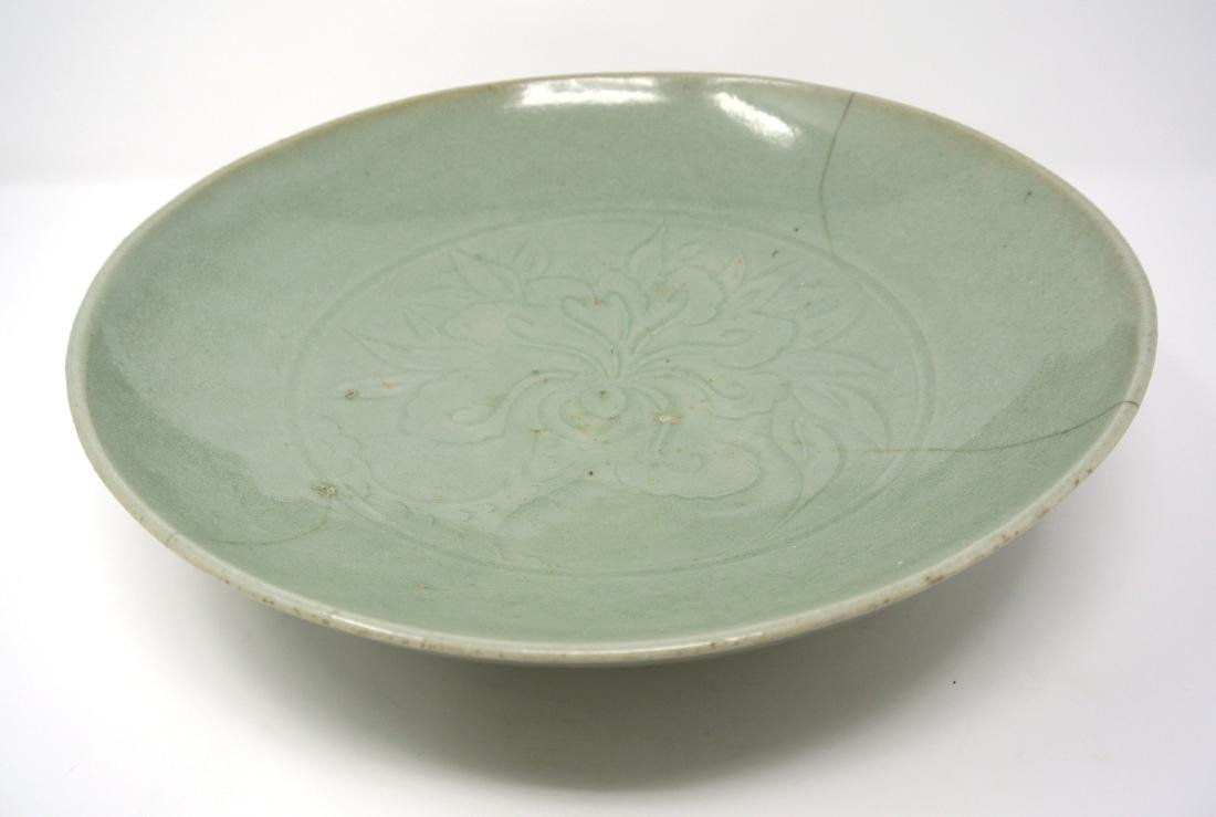 Chinese Antique Glazed Celadon Bowl