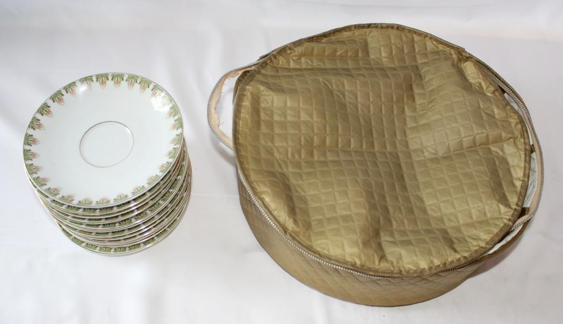 Set of Schwarzburg Tea Cup Dining Set with Cup Bag