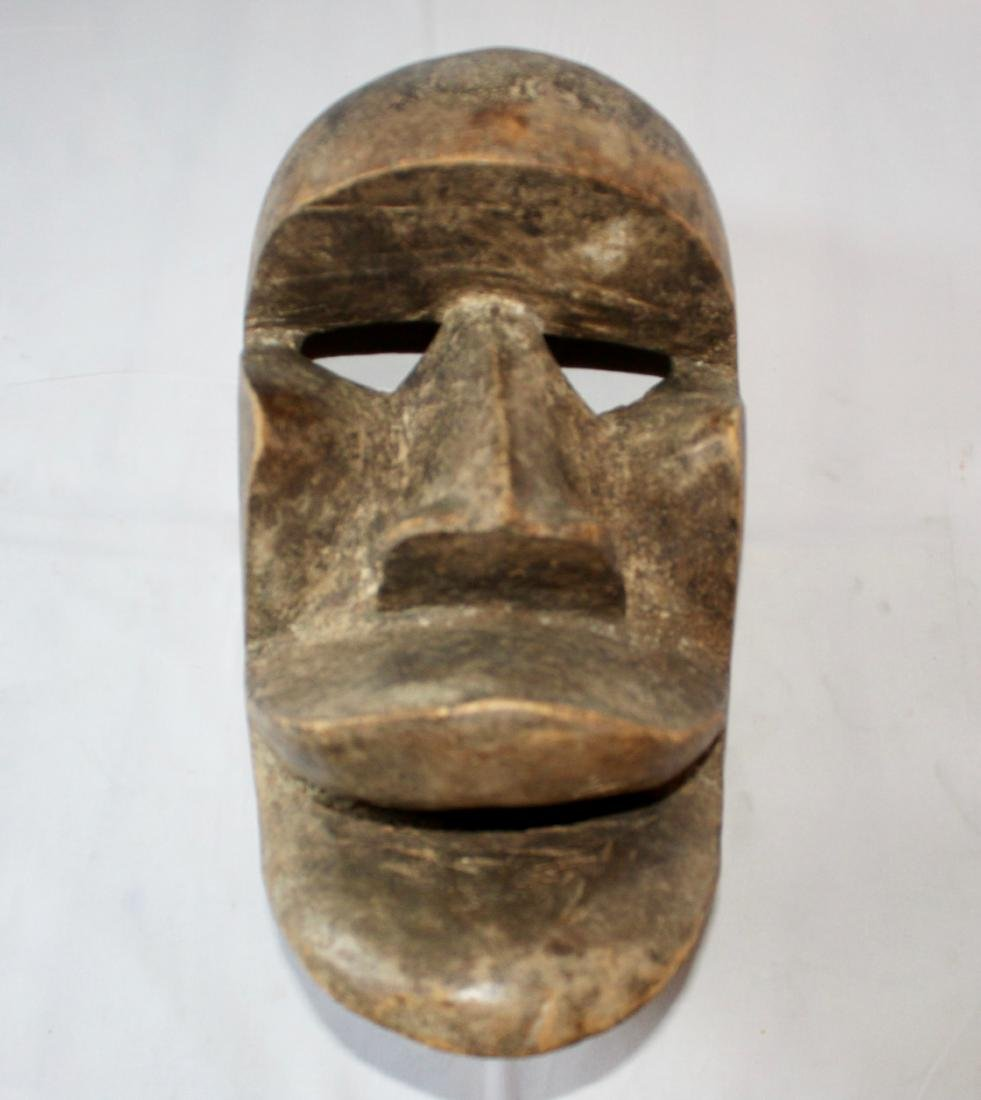 Vintage Wooden Carved Tribal Mask