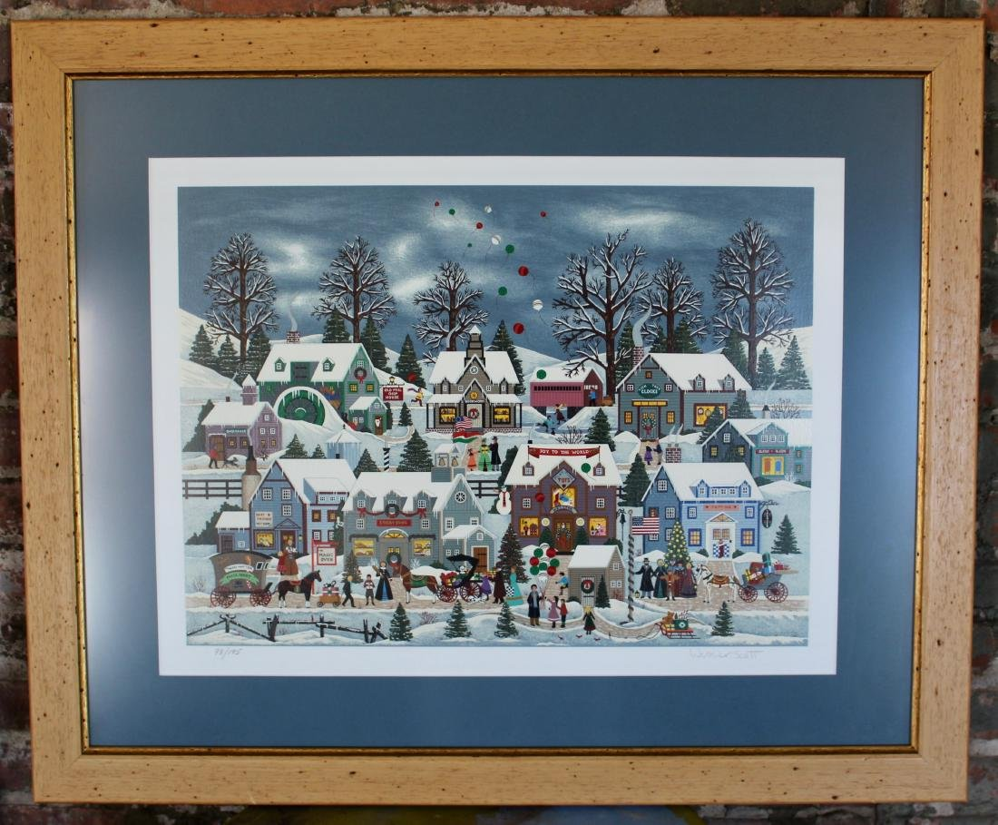 Jane Wooster Scott Hand-signed and Numbered Limited