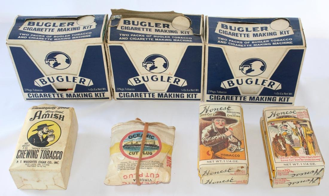 Bugler Cigarette Making Kit and Extra Chewing and