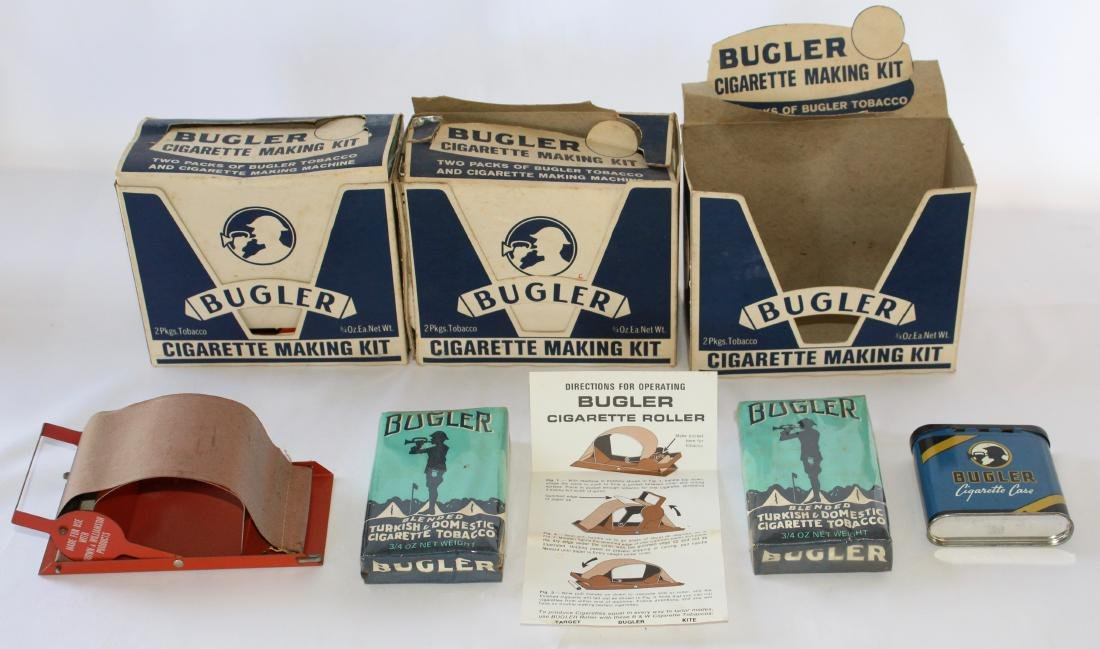 Bugler Cigarette Making Kit and Extra Chewing and - 2