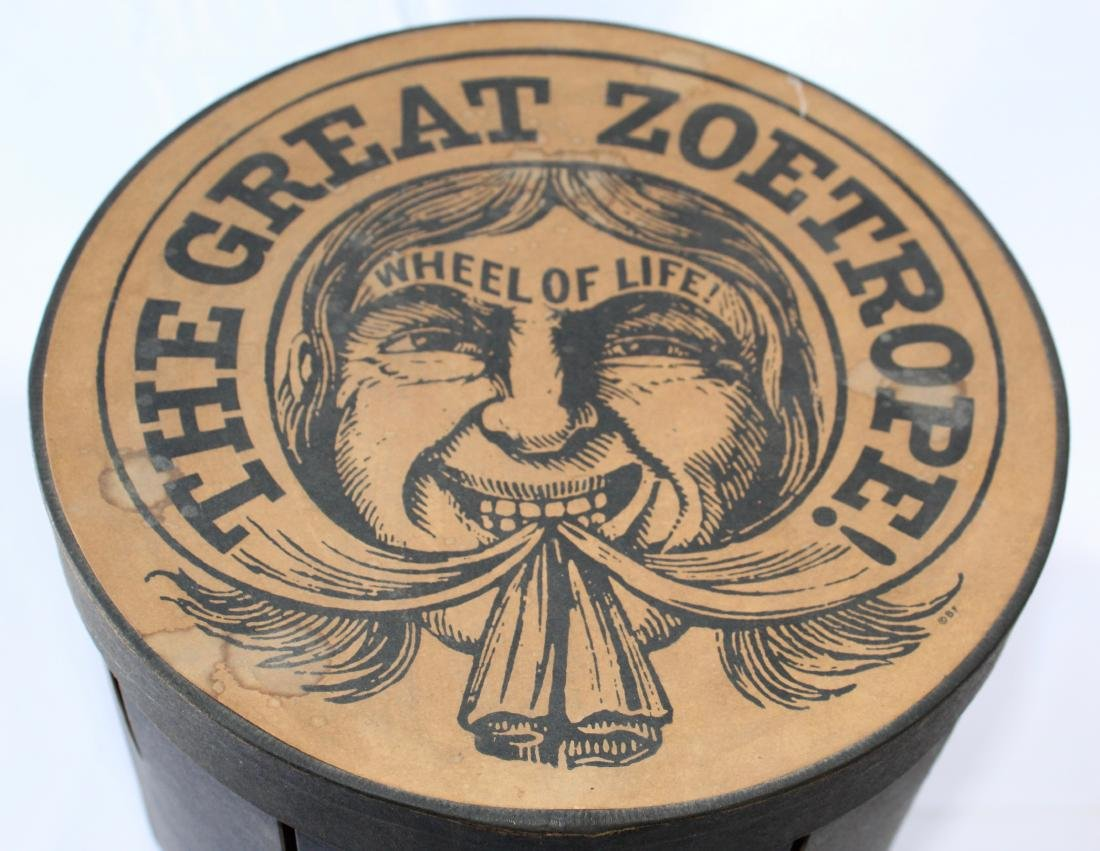"Antique ""The Great Zoetrope Wheel of Life""  from Late - 2"