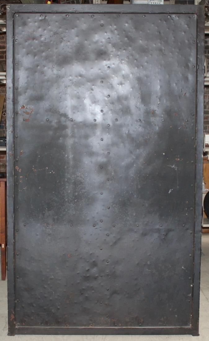 Antique Spanish Raw Iron Shelving With Gates - 7