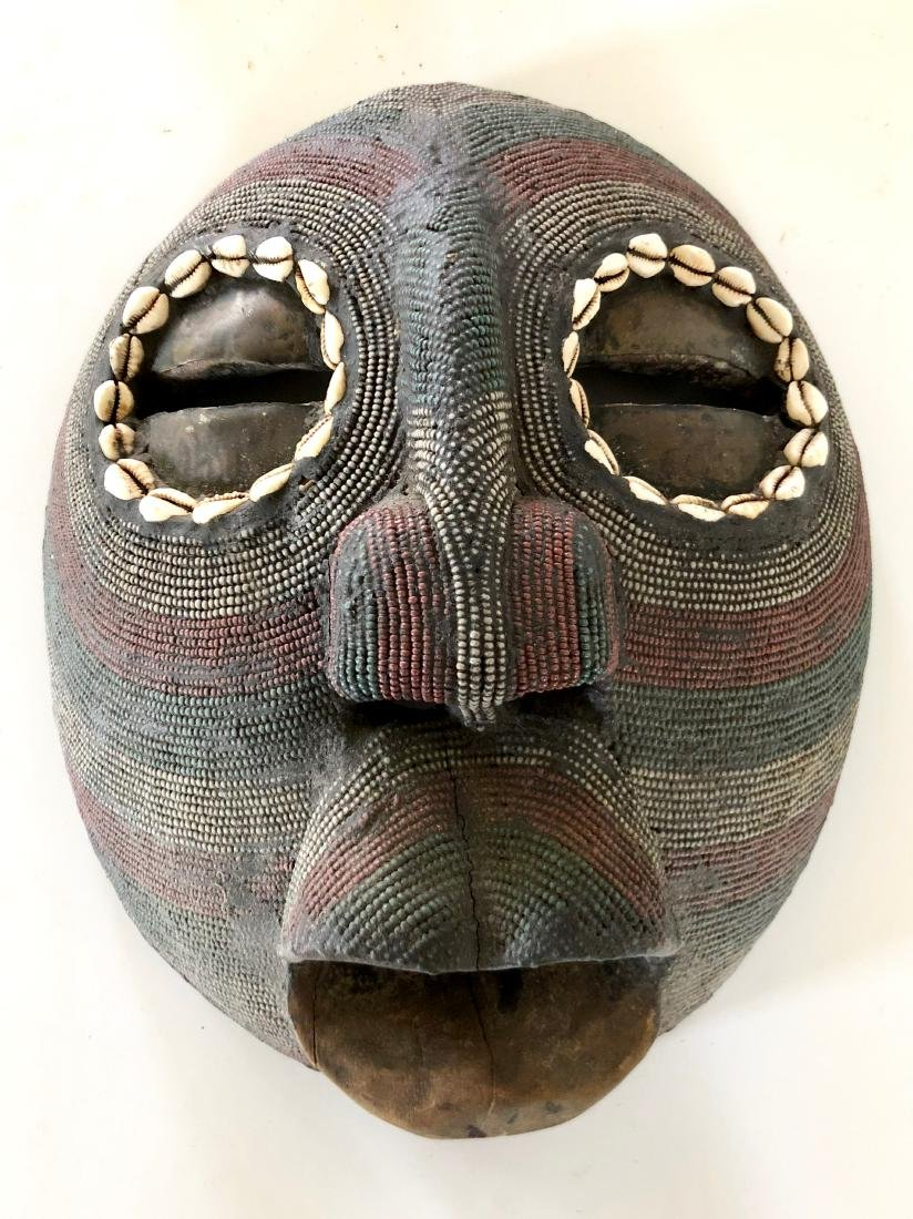 Lot of 4 African Tribal Masks - 2