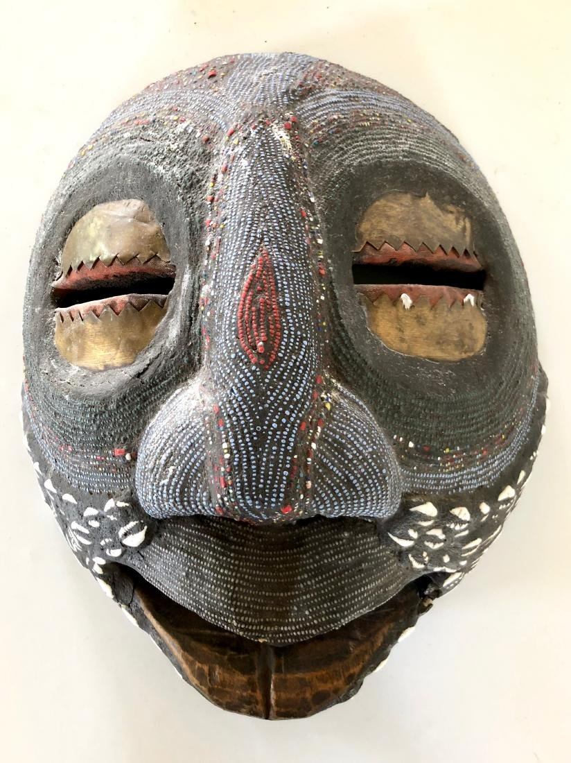 Lot of 4 African Tribal Masks - 4