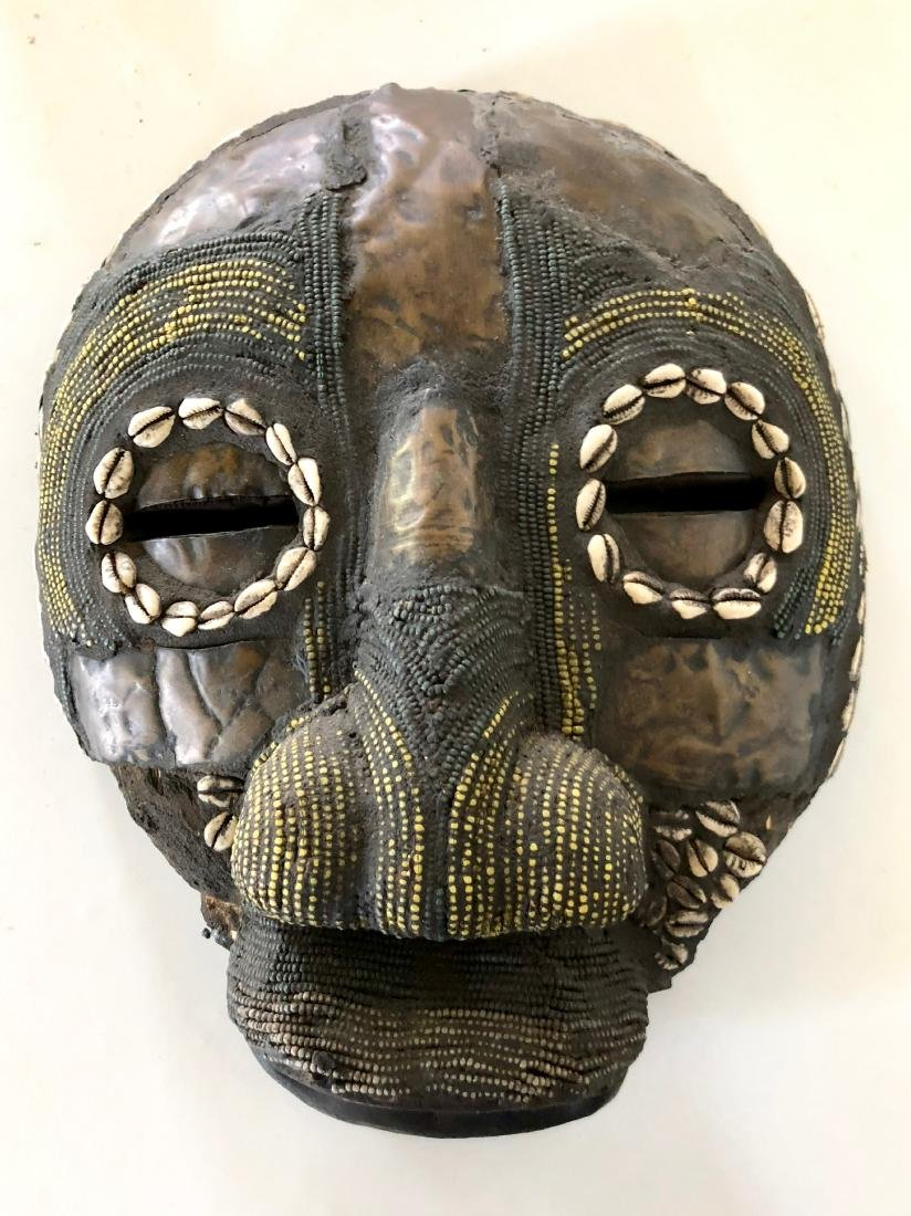 Lot of 4 African Tribal Masks - 6
