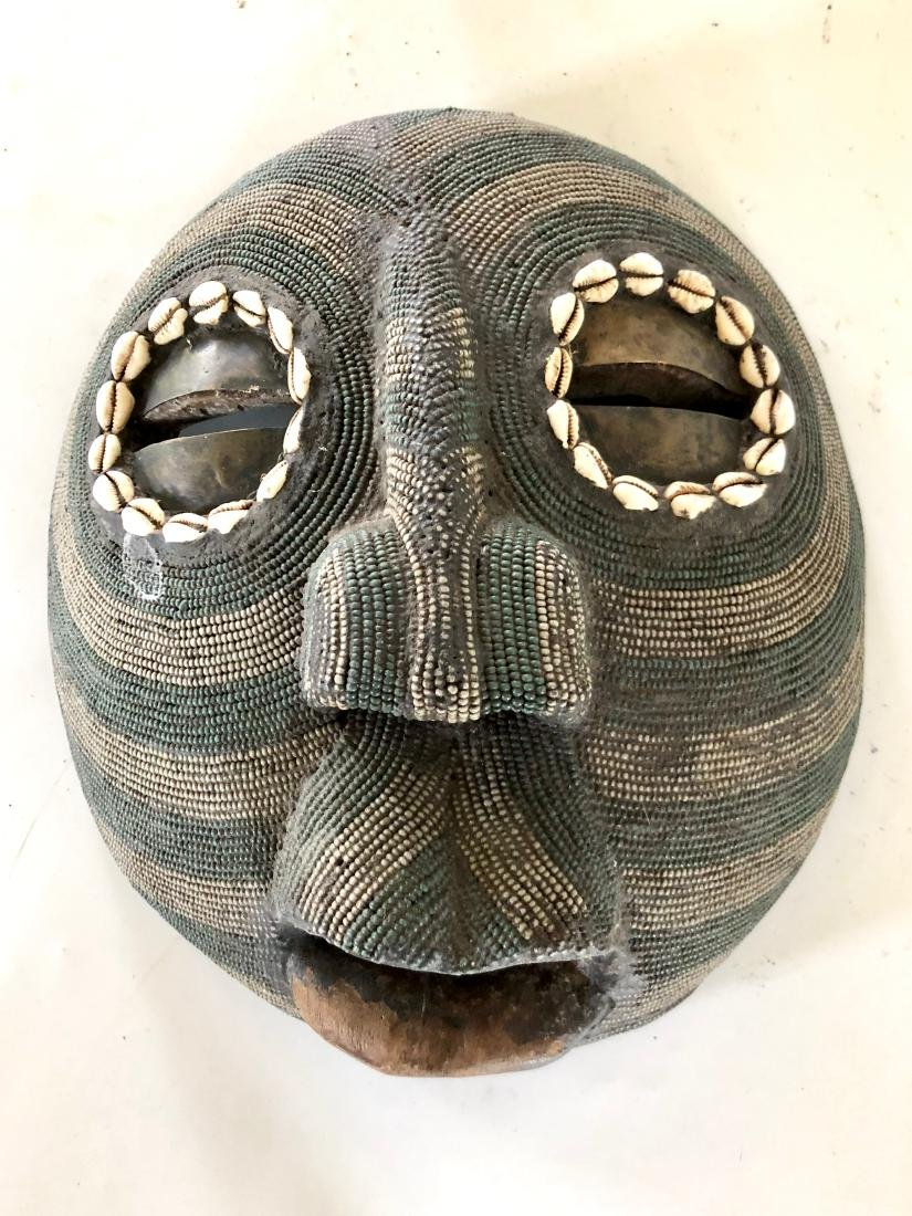 Lot of 4 African Tribal Masks - 8