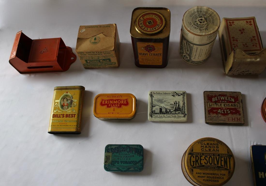 Rare Lot of 17 Vintage Tins - 2