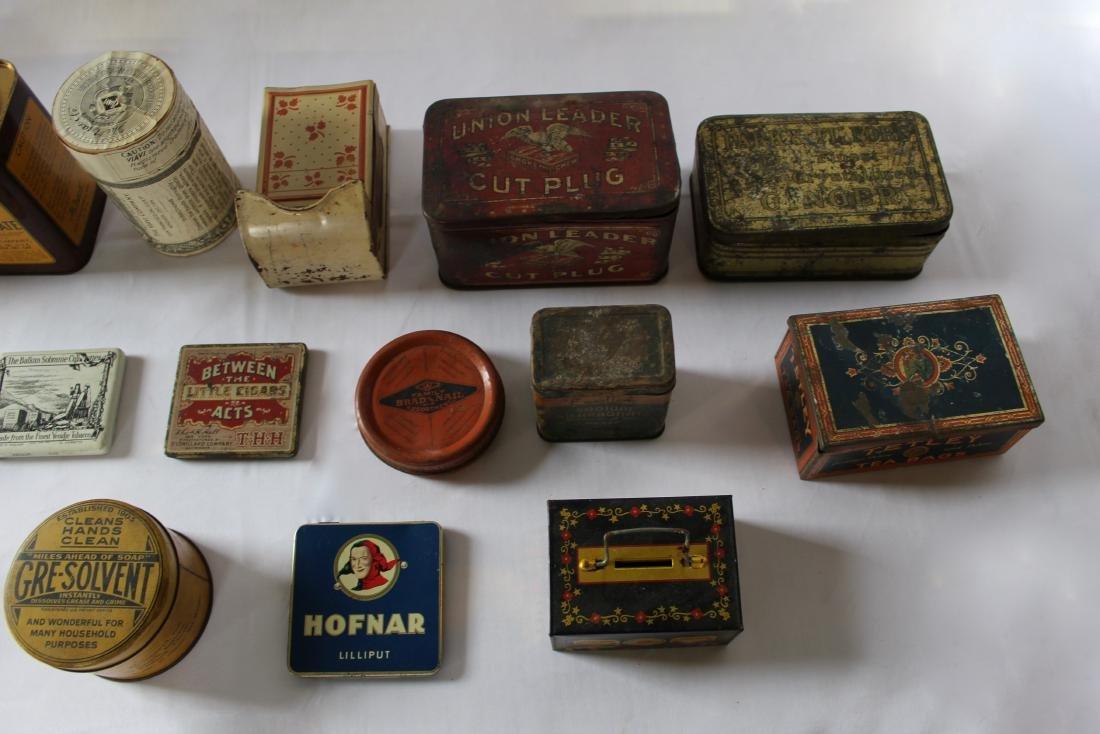 Rare Lot of 17 Vintage Tins - 3