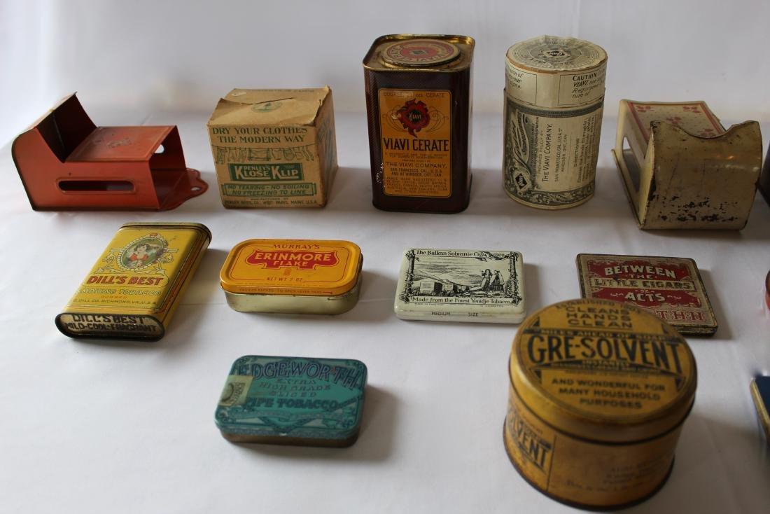 Rare Lot of 17 Vintage Tins - 4