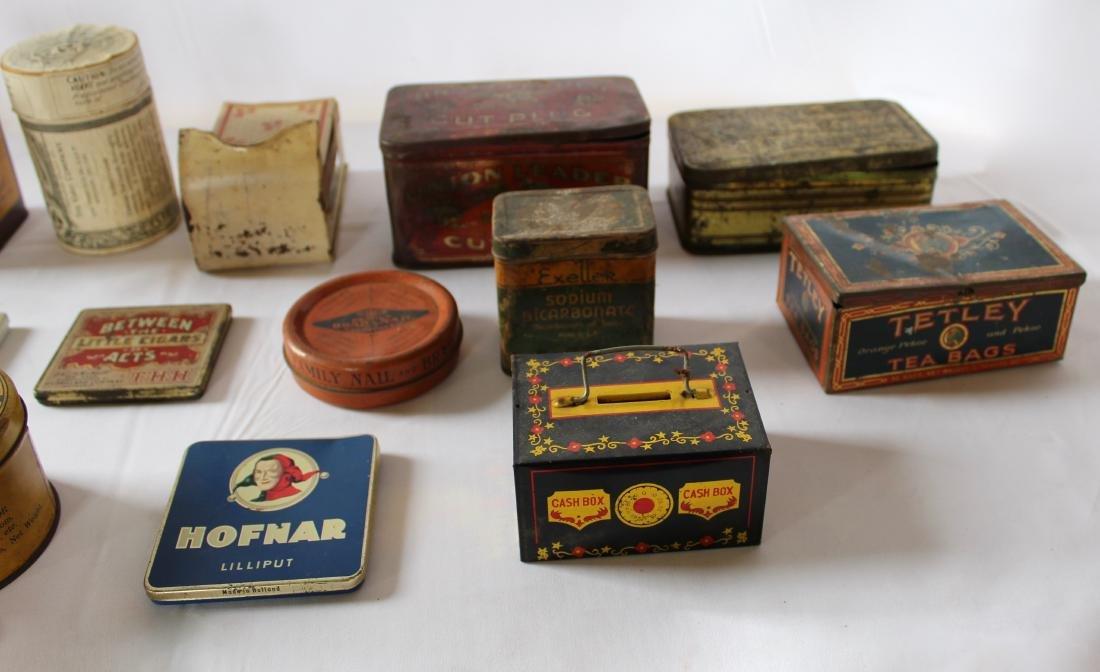 Rare Lot of 17 Vintage Tins - 5
