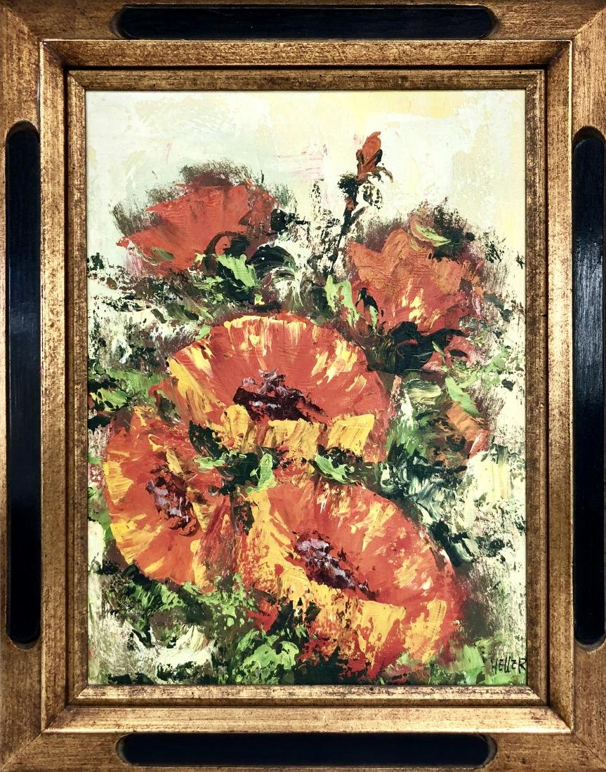 Oil Painting Signed Heller