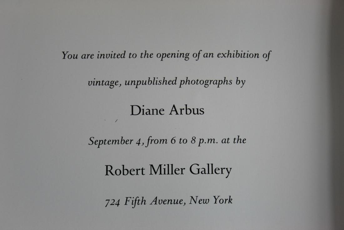 Sep. 1980 DIANE ARBUS: UNPLUBLISHED PHOTOGRAPHS - 6