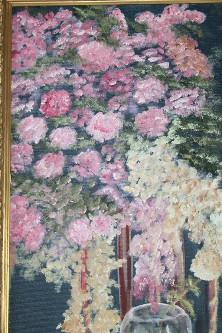 Little Girl around Flowers Painting by Teri Peluso - 6