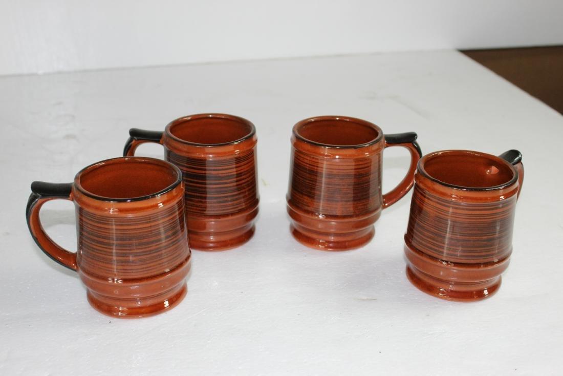 Japanese Coffee Pot Set w/ Creamer, Sugar Pot & Set of - 4