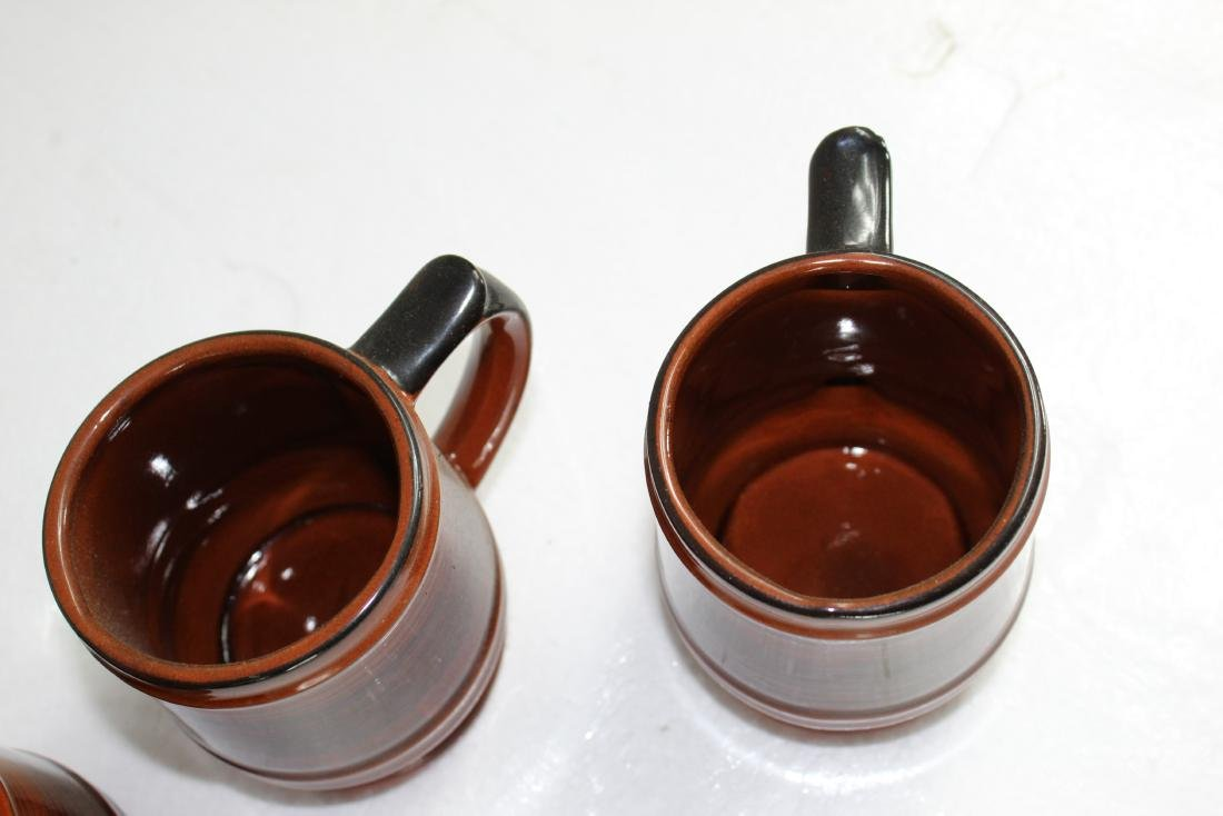 Japanese Coffee Pot Set w/ Creamer, Sugar Pot & Set of - 5