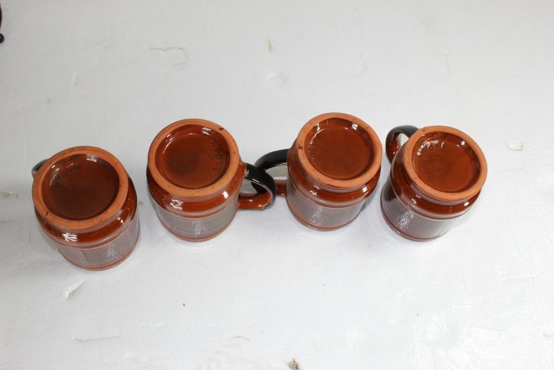 Japanese Coffee Pot Set w/ Creamer, Sugar Pot & Set of - 7