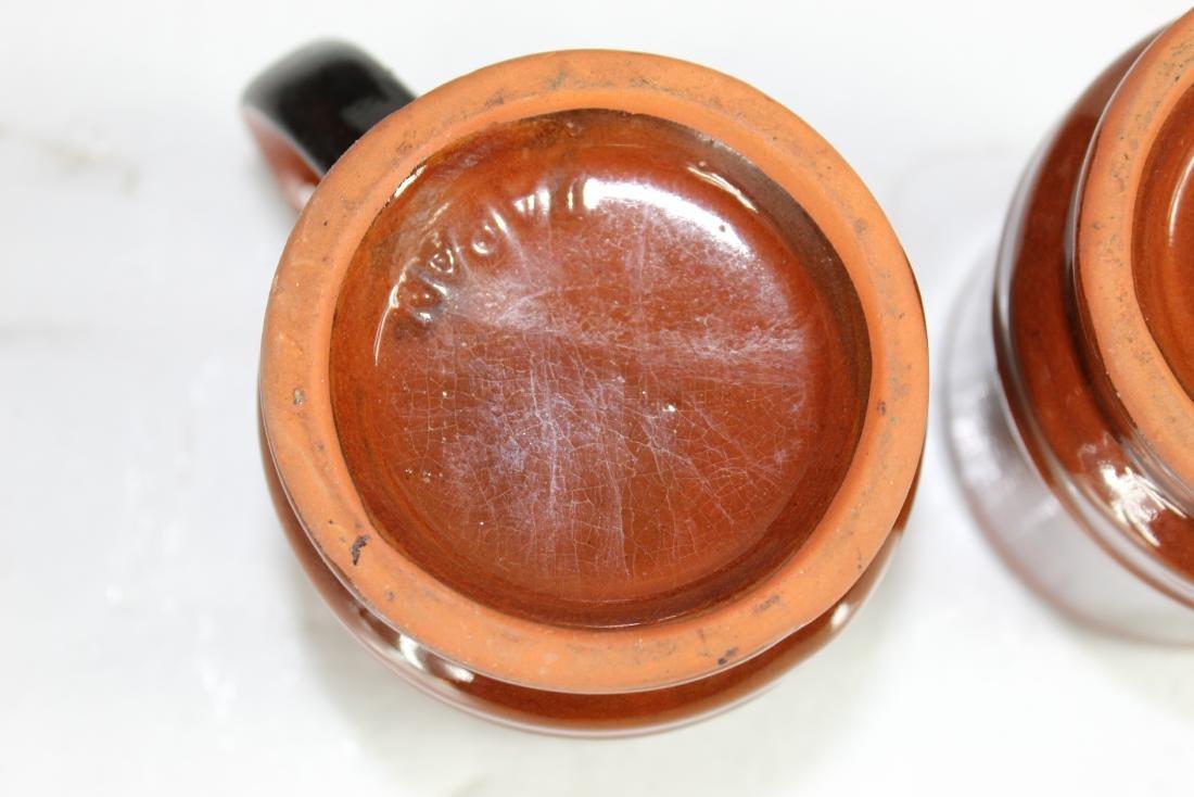 Japanese Coffee Pot Set w/ Creamer, Sugar Pot & Set of - 8
