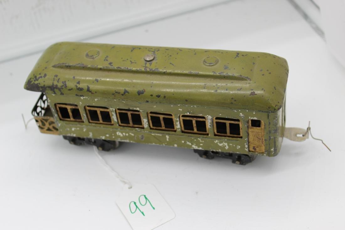 PERWAR Lionel Green Train Car