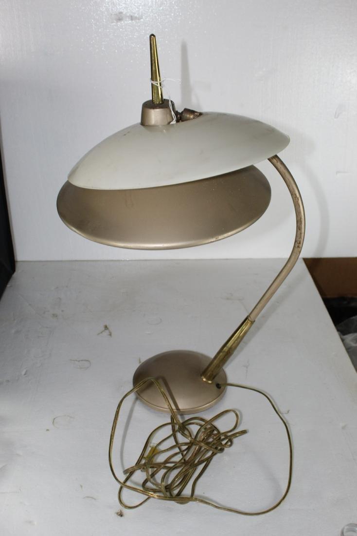 Med century Modern Desk Lamp w/ Shade
