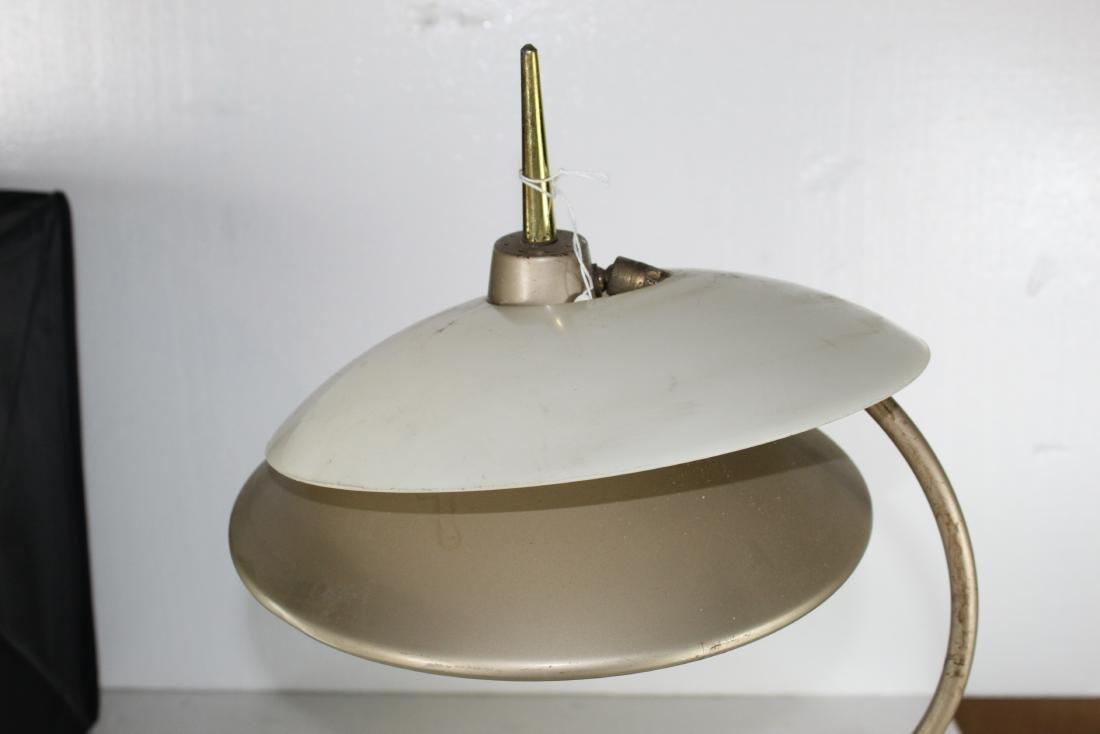 Med century Modern Desk Lamp w/ Shade - 2